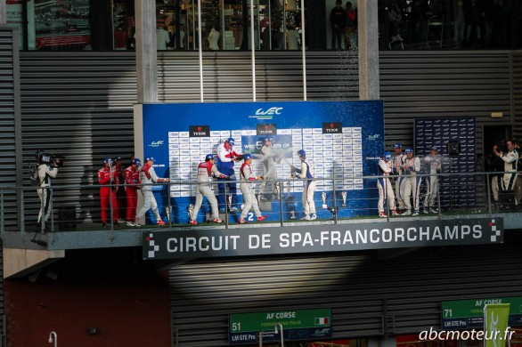 champagne podium spa francorchamps 2014