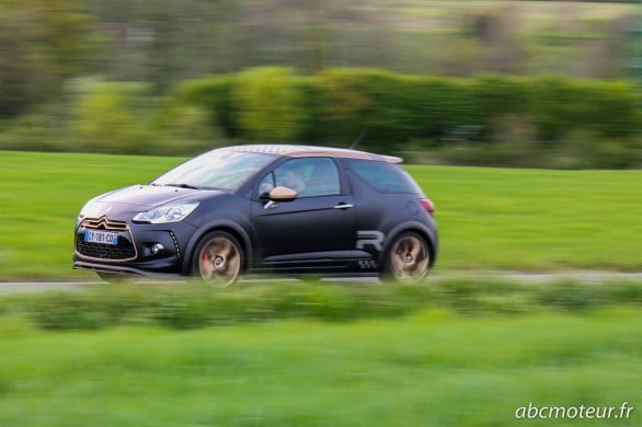 essai Citroen DS3 Racing Gold Mat