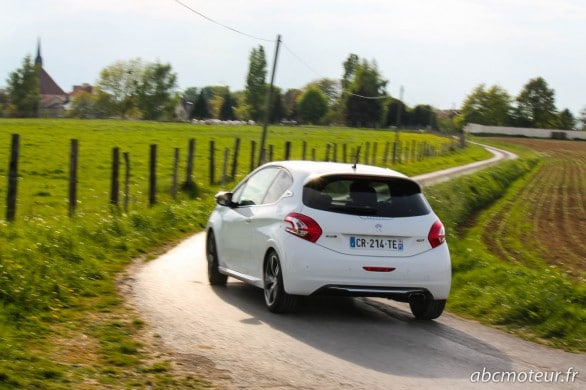 roulage Peugeot 208 GTi