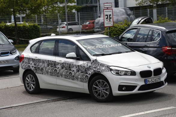 spy BMW Active Tourer Hybrid