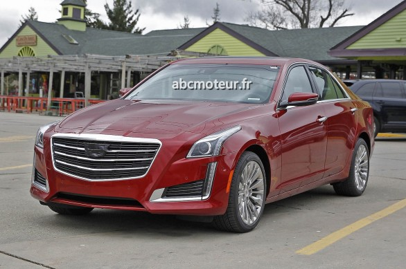 spy new Cadillac CTS 2014