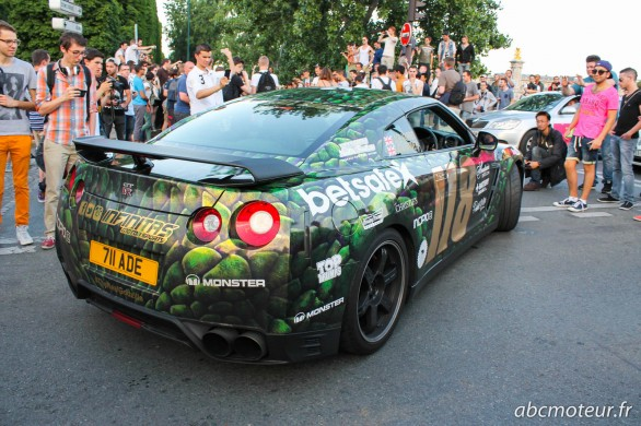 GTR the real godzilla Gumball 3000 2014
