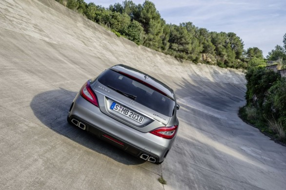 Mercedes-CLS 63 AMG shooting brake restylage