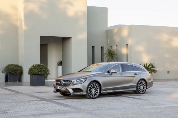 Mercedes CLS shooting brake restylee