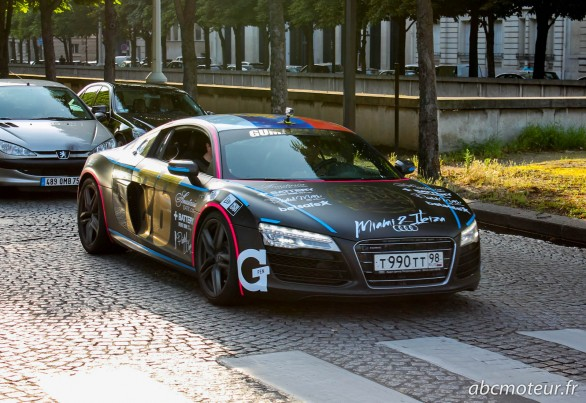 R8 Gumball 3000 2014