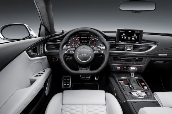 interieur Audi RS7 2014