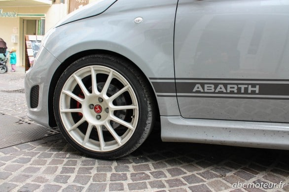 jante 17p Abarth kit Esseesse