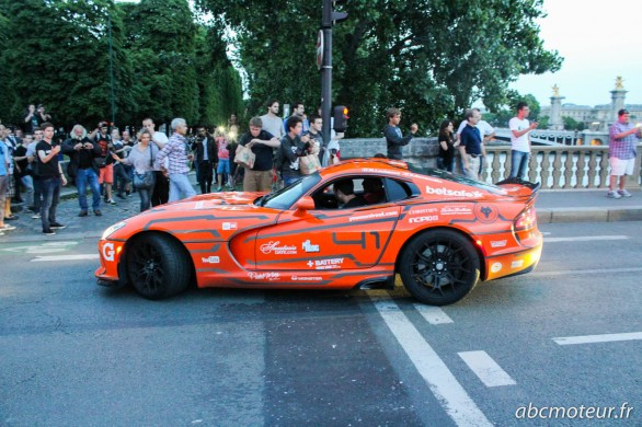 nouvelle Dodge Viper Gumball 3000 2014