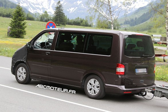 photo espion VW T6