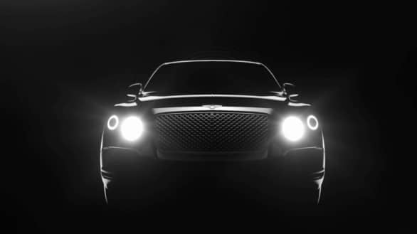 teaser SUV Bentley