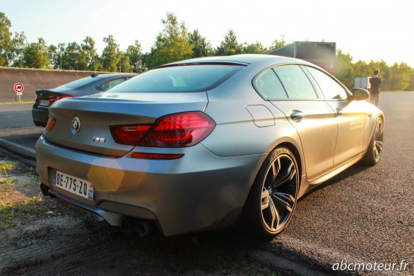 3-4 arriere BMW M6 Gran Coupe