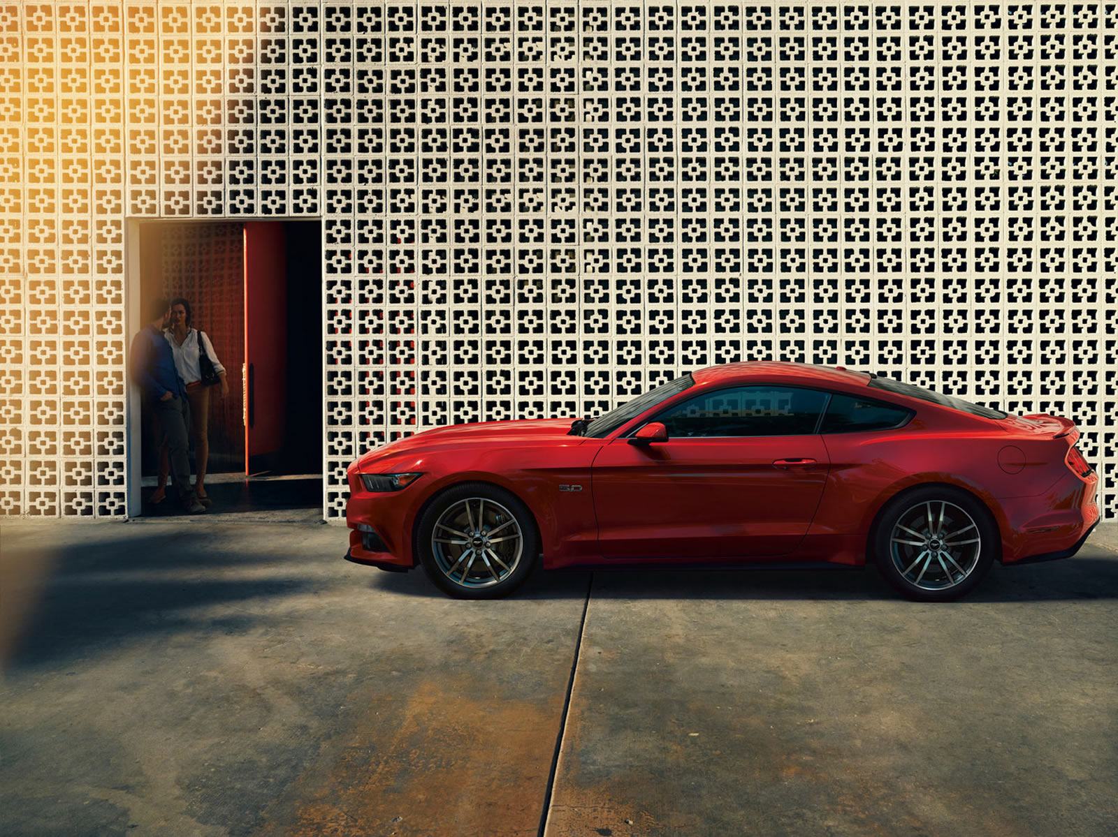 La Ford Mustang 2015 annonce ses motorisations