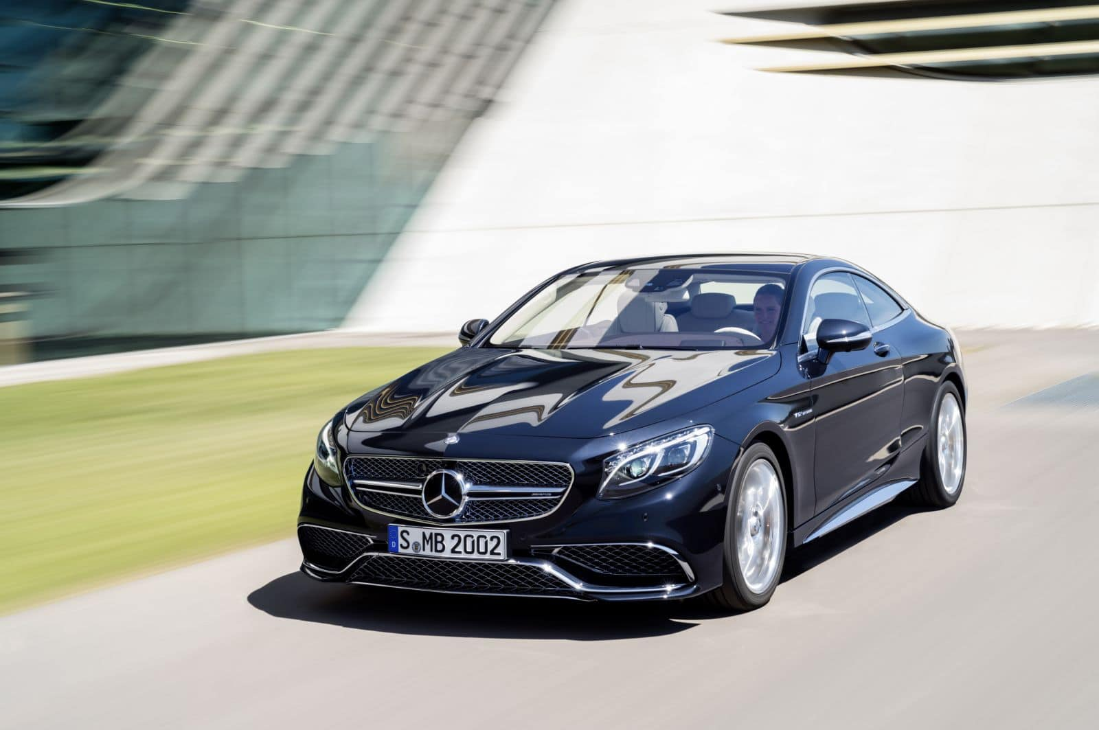 Nouvelle Mercedes Classe S Coupé 65 AMG : V12 power