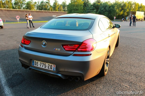 arriere BMW M6 Gran Coupe