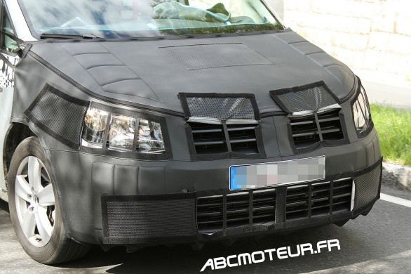 calandre VW Caddy 2015
