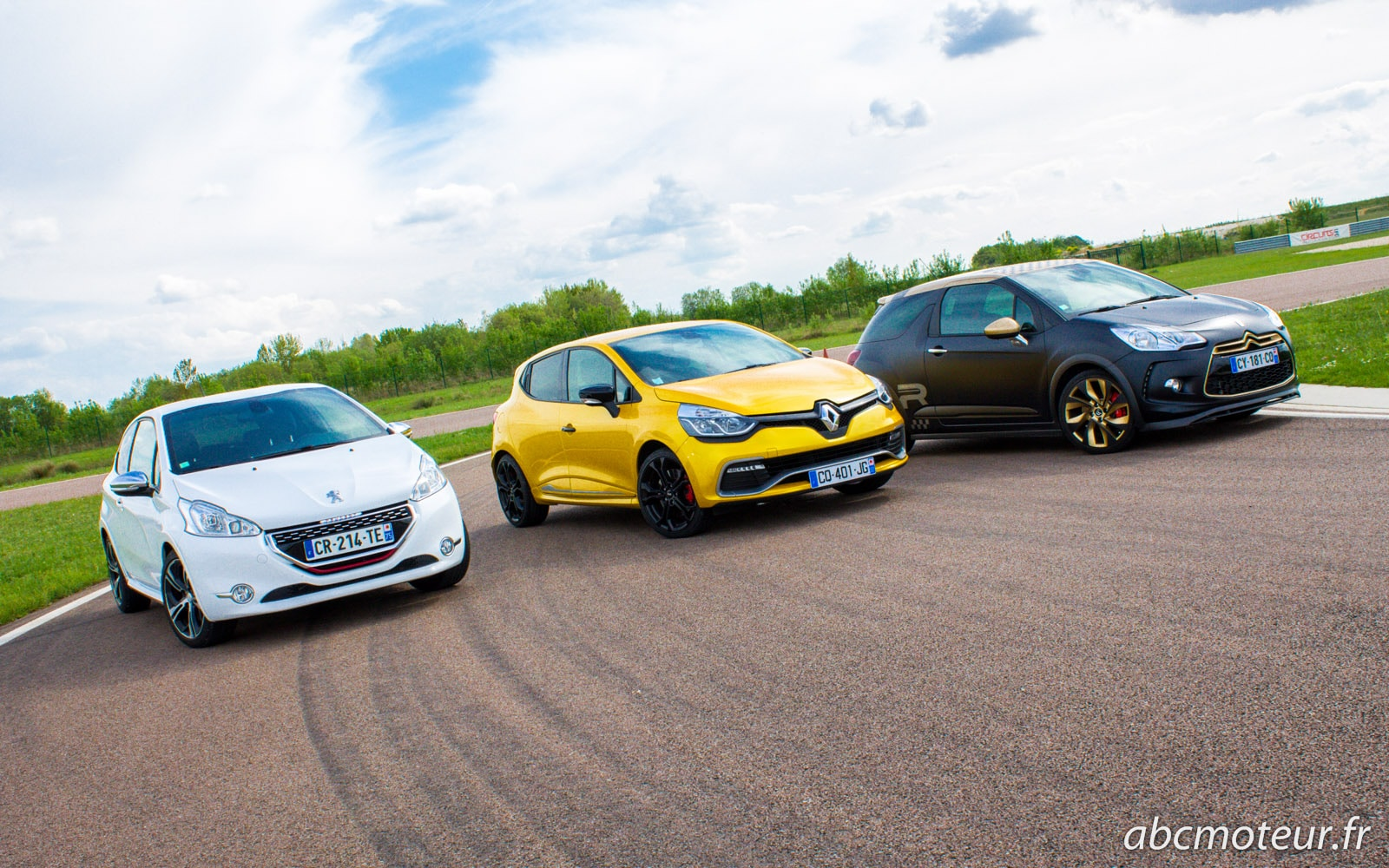 208 GTi VS Clio IV RS VS DS3 R – Match de GTI à la Française