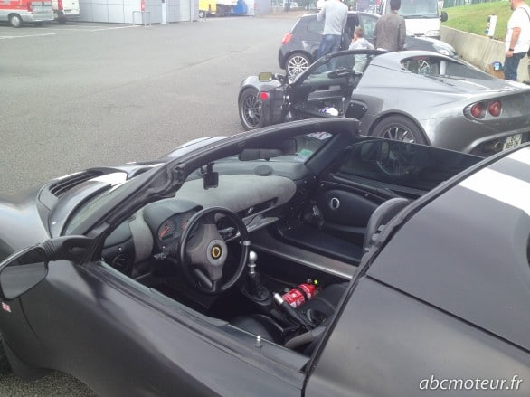 interieur Lotus Elise 111R