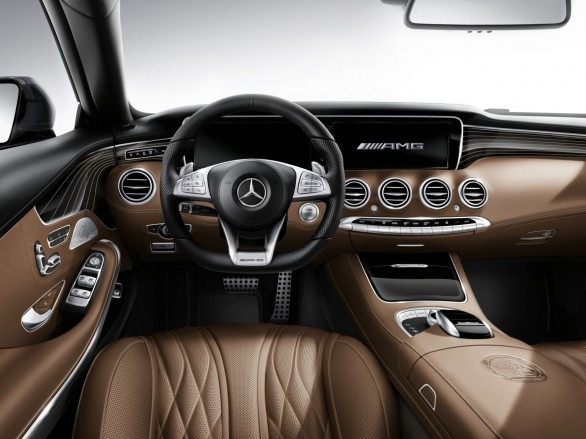 interieur Mercedes-Classe-S-Coupe-65-AMG 2014