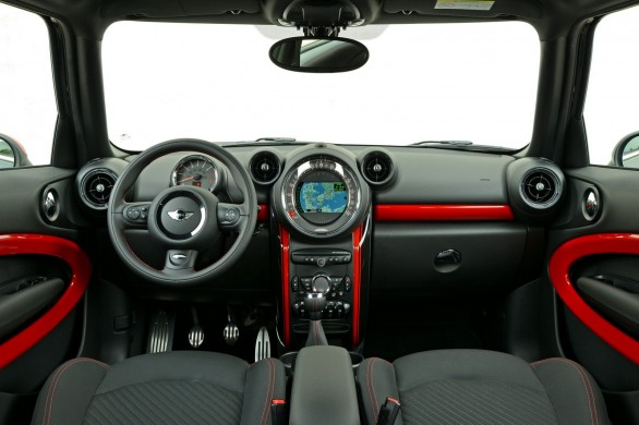 interieur Paceman-John Cooper Works restylee