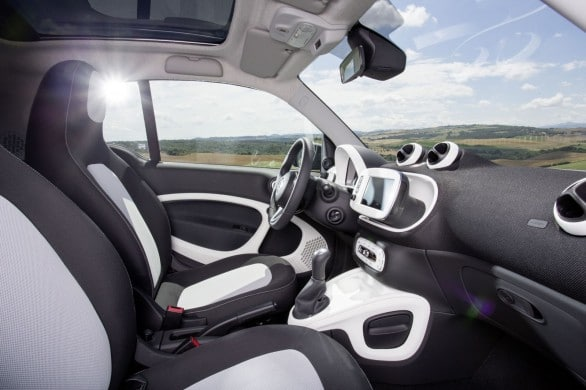 interieur nouvelle smart fortwo 2014