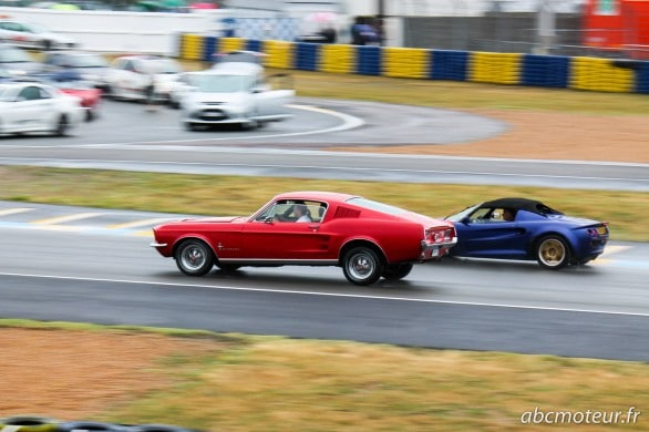 profil Ford Mustang Le Mans Classic 2014