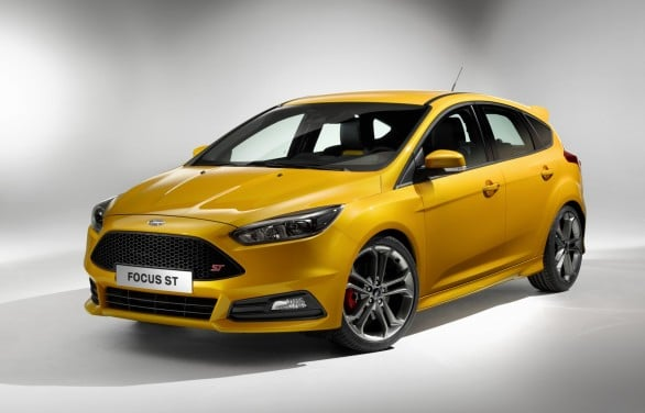 restylage Ford Focus ST