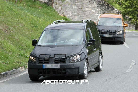 spy VW Caddy