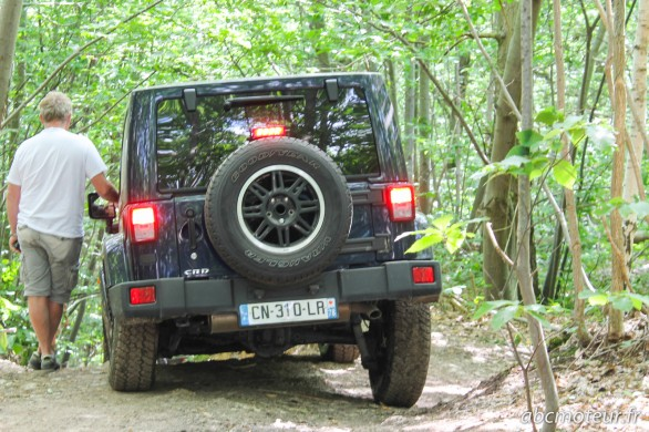 arriere Jeep Wrangler