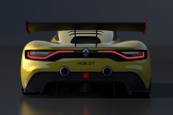 poupe Renault RS 01