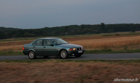 roulage BMW Serie 3 E36