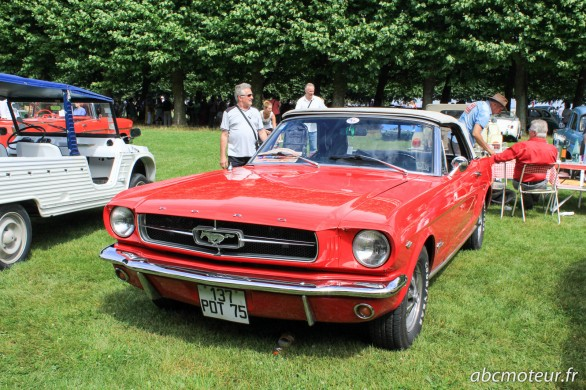 Ancienne Ford Mustang