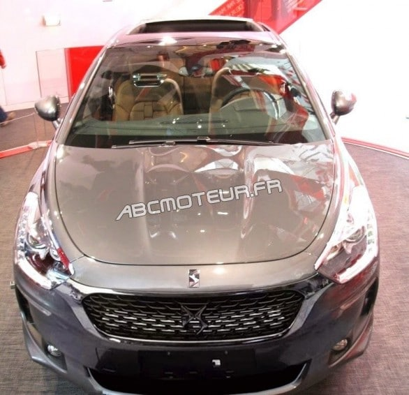 Citroen DS5 logo DS
