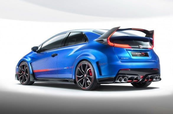 Civic-Type-R -Concept Paris