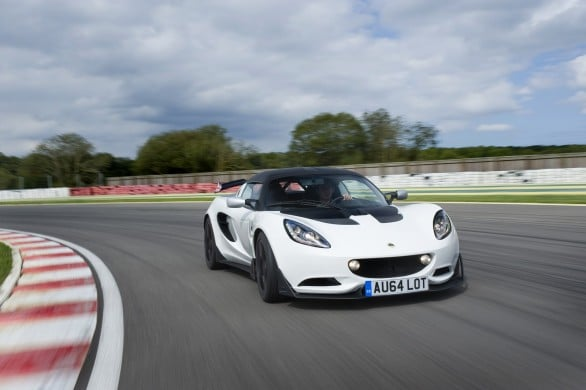 Lotus-Elise-S-Cup-R route