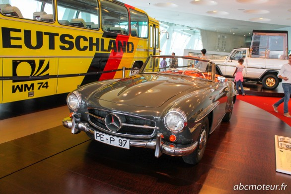Mercedes-Benz 190 SL 1958
