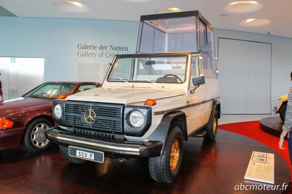 Mercedes-Benz 230 G Papamobil 1980
