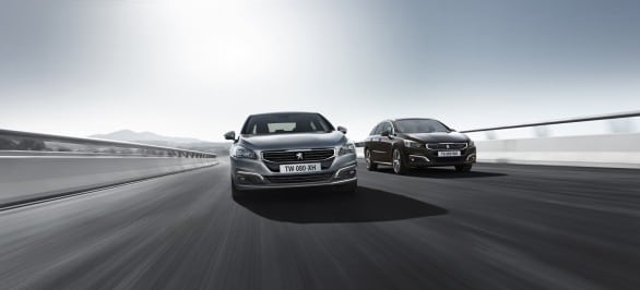 Peugeot-508 berline VS 508 break