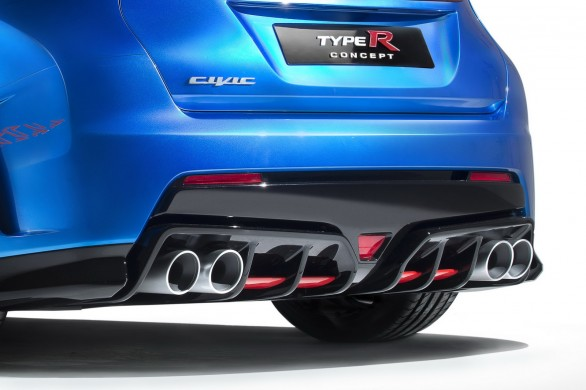 arriere Civic-Type-R -Concept Paris