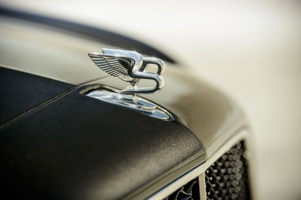 logo capot Bentley-Mulsanne Speed