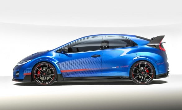 profil Civic-Type-R -Concept Paris