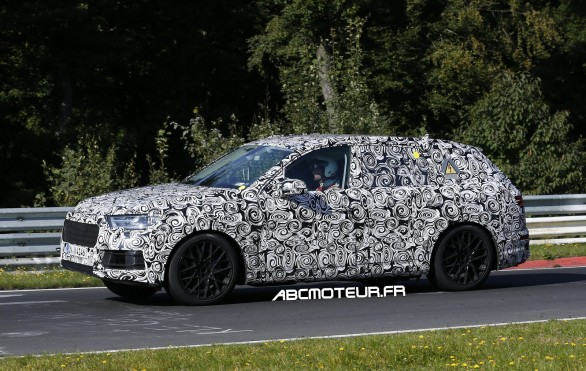test Nurburgring Q7 Plug-in Hybrid