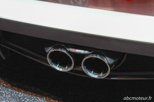 Akrapovic 4C Spider Paris 2014