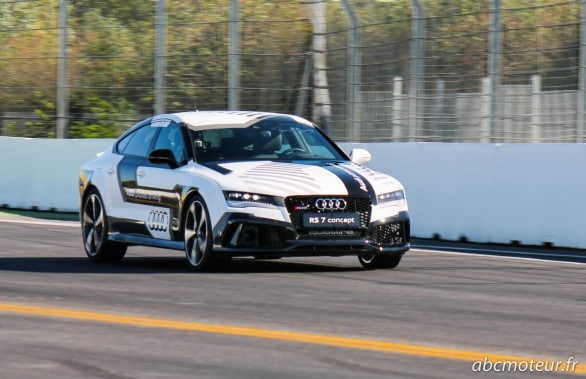 Audi RS 7 Piloted Driving Concept Hockenheim 2014-2