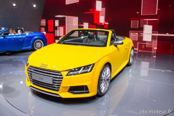 Audi TTS roadster Paris 2014