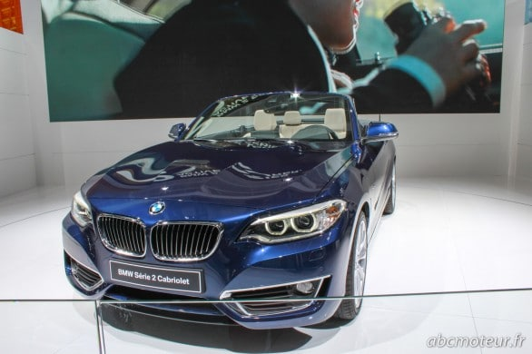 BMW Serie 2 Cabriolet Paris 2014