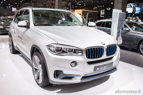 BMW X5 eDrive Concept Paris 2014