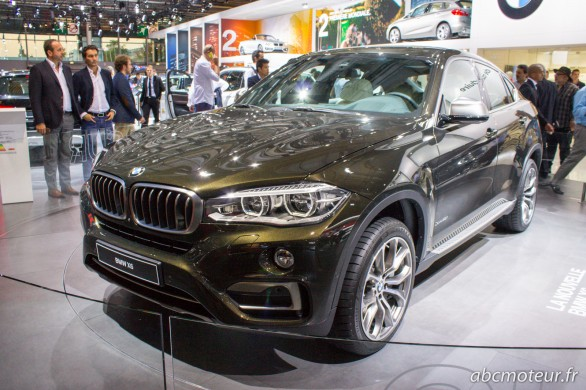 BMW X6 II Paris 2014