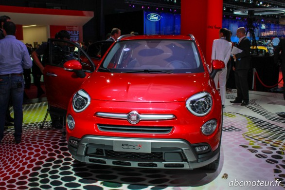 Fiat 500X outdoor Paris 2014