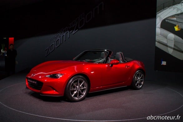 Mazda MX-5 Paris 2014