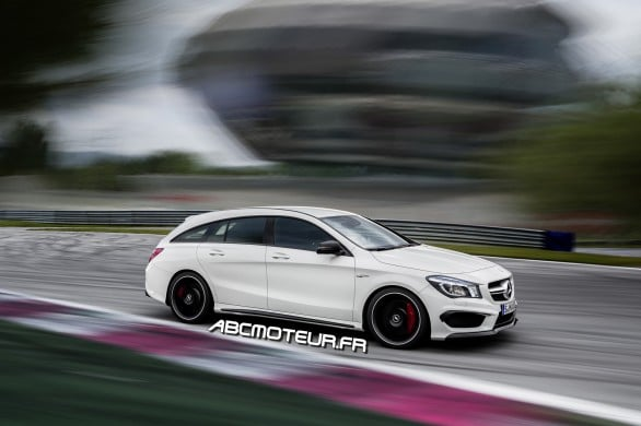 Mercedes CLA Shooting Brake AMG